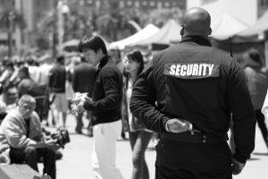 Képzett biztonsági őrök
